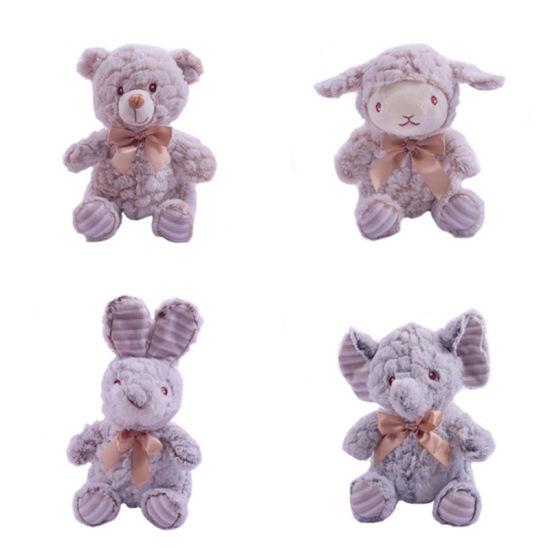 Wholesale Cute Bear Organic Stuffed Custom Soft Animal Baby Plush Toy