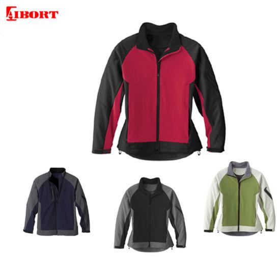 Aibort Custom Mens Sports Windproof Outdoor Softshell Jacket (L07401)