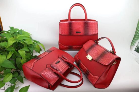 European Style Facotry OEM/ODM Fashion Genuine Real Leather Ladies Handbag