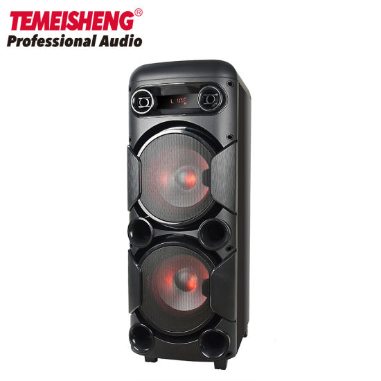 Trolley Karaoke Wireless Portable Bluetooth PA Speaker Box