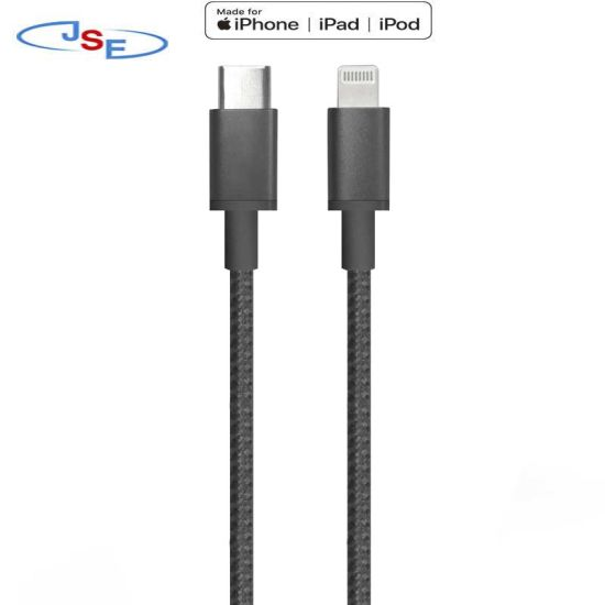 Premium USB-C to Lightning Cable to Your USB-C Enabled Mac,  MacBook or iPad PRO for Syncing & Charging.