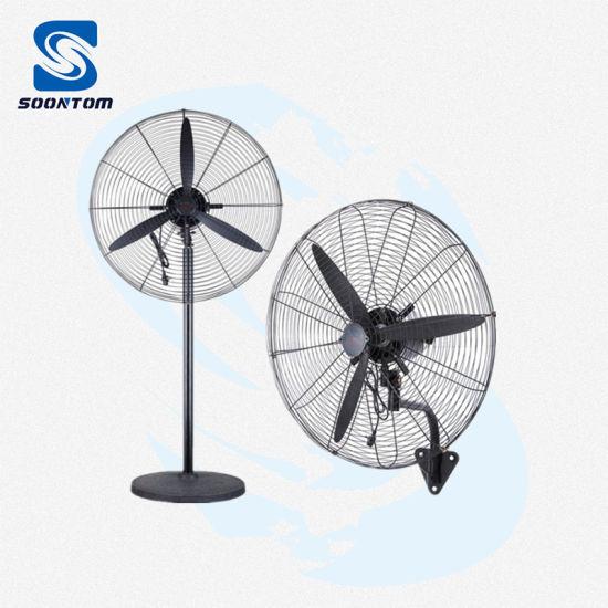 Wall Mounted Industrial Fan 750mm Powerful 3 Speeds Pedestal Fan
