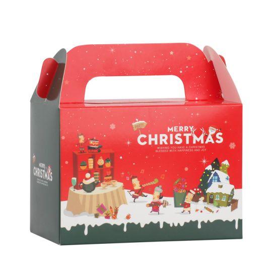 Custom Candy Cake Chocolate Box for Christmas