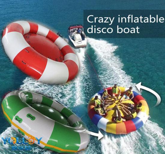 Crazy Water Towable Ski Tube Inflatable Disco Boat pictures & photos