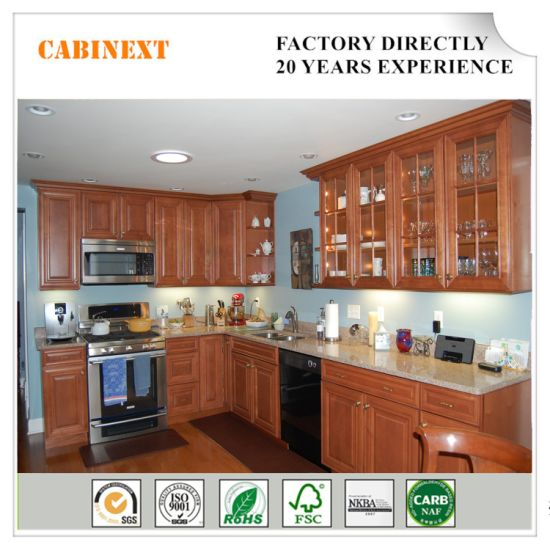 Traditional Customized American Standard Solid Wood Affordable Kitchen Cabinets