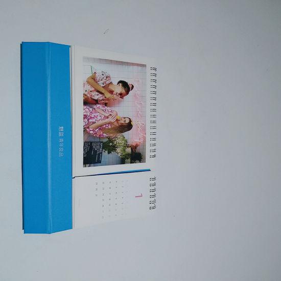 2019 Custom Gift Printable Art Paper Desk Calendar