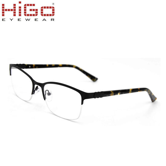 Higo High Reputation Glasses Stainless Steel Fashion Metal Eye Glasses