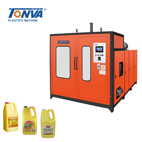 3L 5L Plastic Edible Oil Handle Bottle Blow Molding Manufacturing Machine pictures & photos