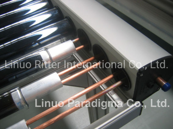 Pressurized Evacuated Tube Collectors with CPC-Reflector