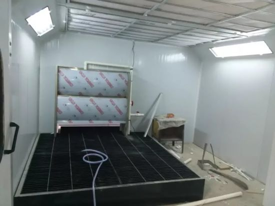 Furniture Paint Spray Booth for Wooden and Metal Parts Furniture
