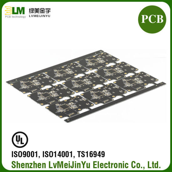 LED Photoelectricity 1 6mm Thickness 5 Mil Double Layers HASL Lead Free PCB