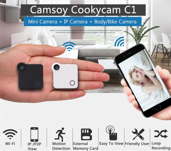WiFi IP Cam Mini DV HD 720p Action Camera Motion Sensor Loop Wireless Digital IP Camera