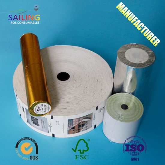China ATM Thermal Roll for Bank ATM Machine - China Receipt Paper