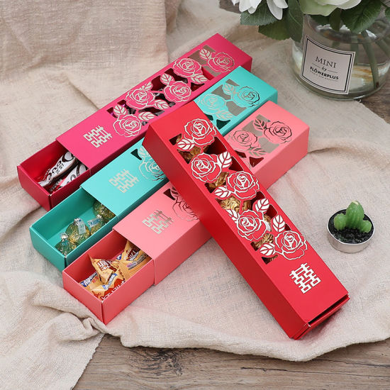 China Hand Making Wholesale Package Folding Paper Chocolate Drawer