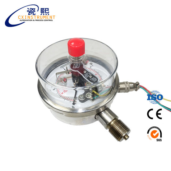 Hot Sale Electric Contact Water Pressure Gauge Price pictures & photos