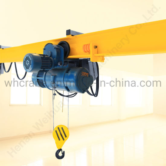 CD1 Type Single Speed Electric Wire Rope Hoist 2 Tons