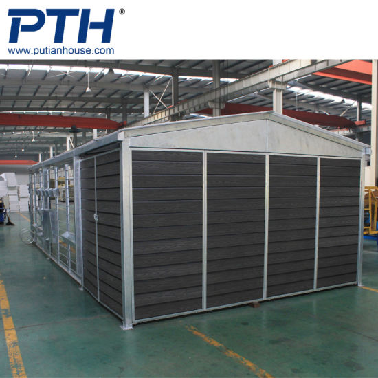 China Light Steel Structure Car Parking Shed Design And Manufacture