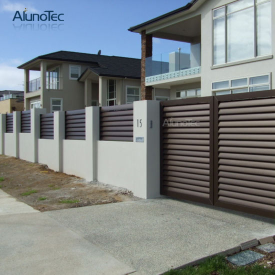 China Aluminum Privacy Fence Panels For House China