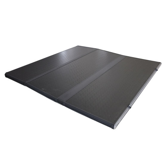 Wholesale High Quality Pickup Rear Cover, Pickup Bed Cover, Hard and Soft Tri Fold Tonneau Cover for Ford F150, Toyota Tundra, Tacoma, Chevrolet Gmc,