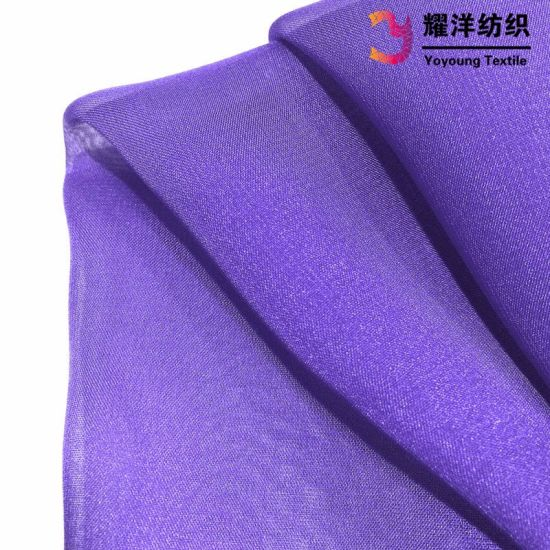 Stocks Available Colors 30d Poly Ultralight Chiffon for Ladies Dress pictures & photos