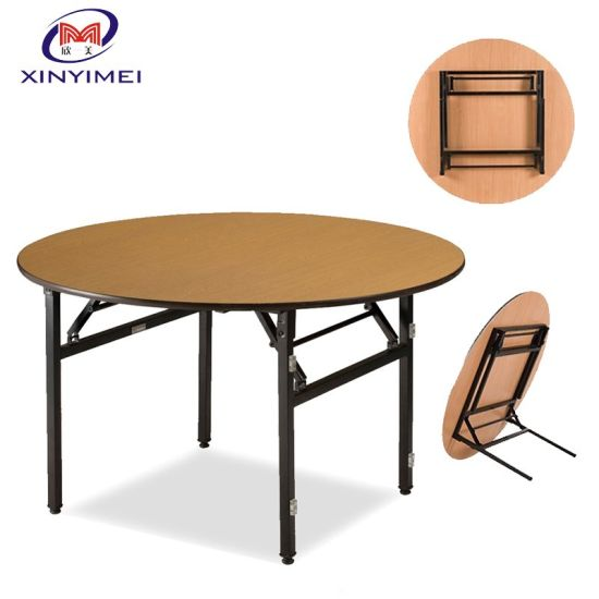 e1bdf4333aad High Quality Round Folding Laminate Dining Tables (XYM-T21) pictures &  photos