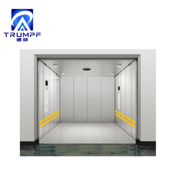 All Painted Steel Carbin Car Freight Goods Elevator for Warehouse or Factory