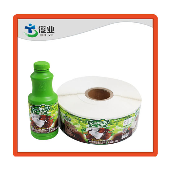 China Printing Roll Custom Logo Self Adhesive Labels Stickers For