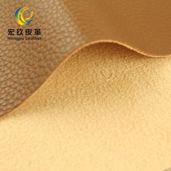 Embossed Pattern BS5852 Fire Resistant PVC Artificial Sofa Chair Leather