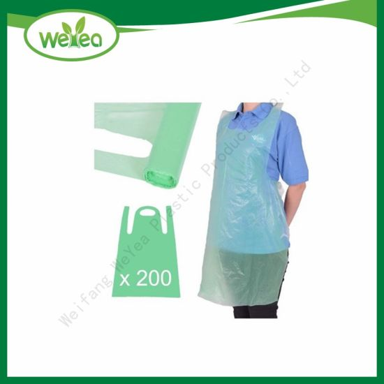 Medical and Household Use PE Disposable Plastic Poly Apron