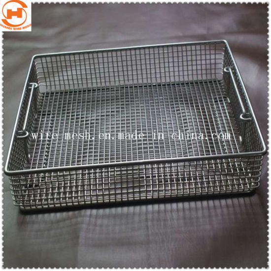 Stainless Steel Wire Mesh Basket for Food Basket/ Kitchen Basket pictures & photos