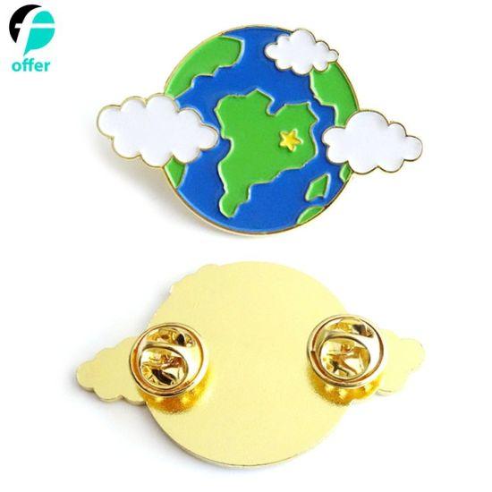 China Promotion Gift Gold Plated Soft Enamel Lapel Pin - China Lapel