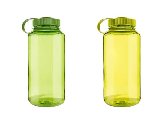 BPA Free Large Capacity 1L Sport Wide Mouth Plastic Water Bottle