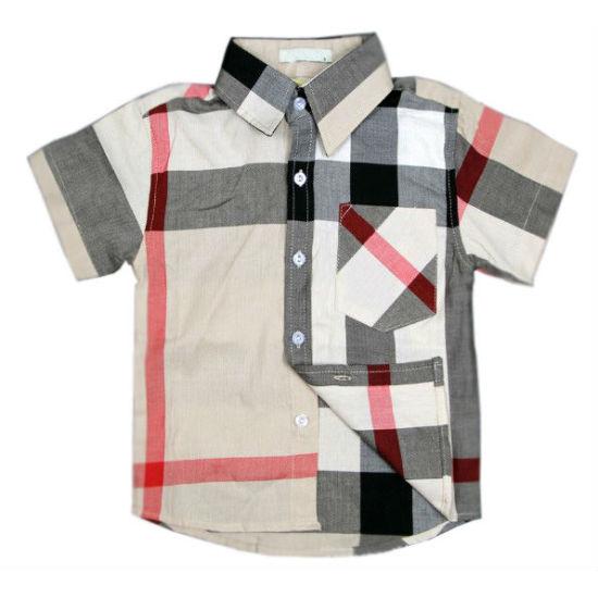 Latest Fashion Design Brand New 100% Cotton Children Shirt