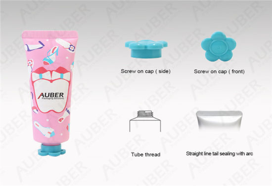 D30mm Pink Cosmetic Tube Packaging Personal Care
