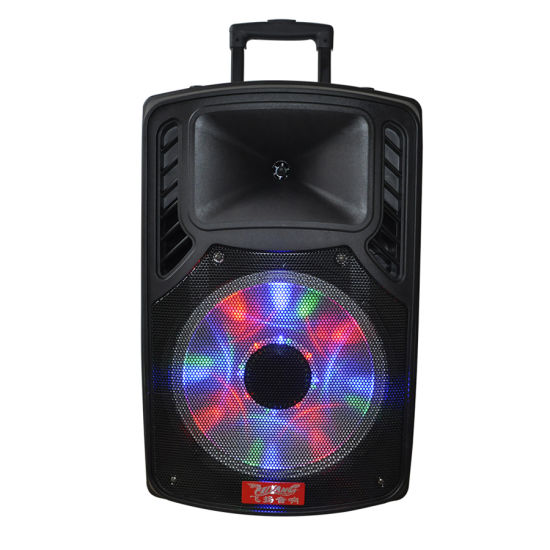 12inch Feiyang Temeisheng Rechargeable Battery Speaker Portable Trolley Speaker with Ce RoHS FCC NFC Bqb F79d