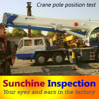 Buldozer/ Crane Used Machine Quality Control Inspection Services in China pictures & photos
