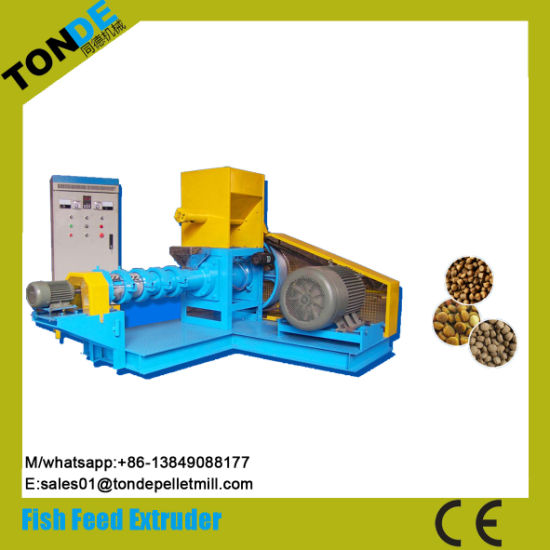 CE Dry Single Screw Floating Fish Food Machine pictures & photos