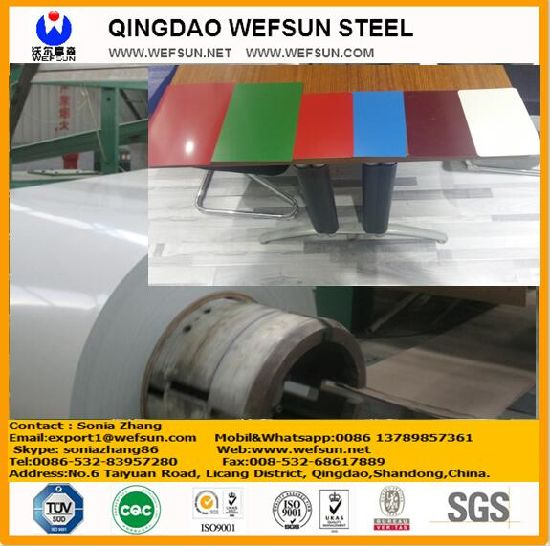 Prepainting PPGI Steel Coils with ASTM A653 pictures & photos