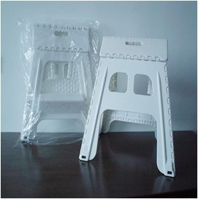 High Quality Plastic Folding Stool (TV0593) pictures & photos