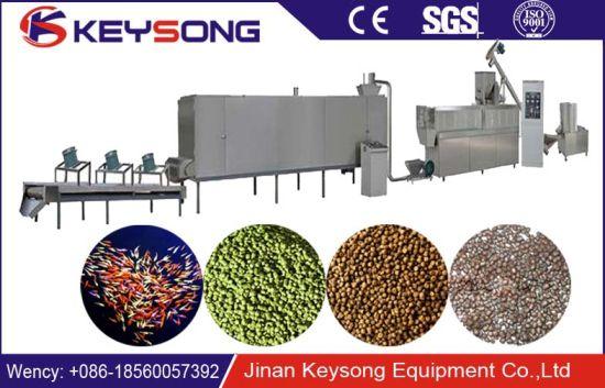 Automatic High Capacity Pet Food Machines /Dog Food/Cat Food/Fish Feed Machine