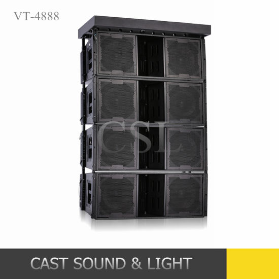 "High Power Dual 12"" Outdoor Line Array Active Speaker"