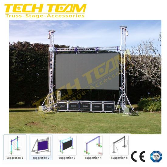 Factory Wholesale Square Box High Strength 6082-T6 Aluminum Truss for LED Screen