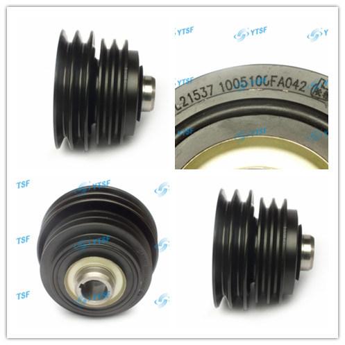 High Quality JAC Truck Parts Crankshaft Belt Pulley