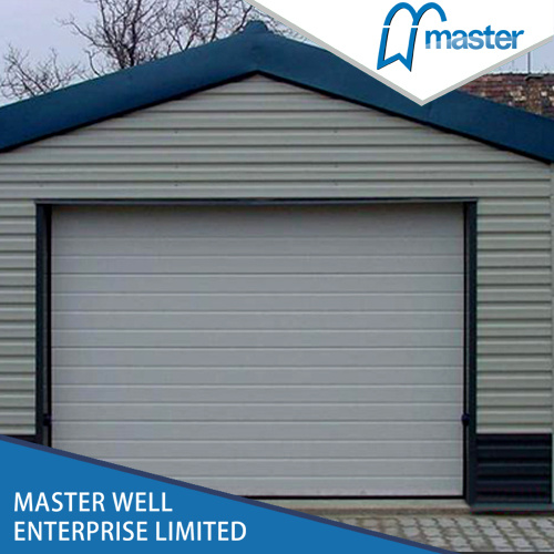 China Remote Control Sectional Garage Door With Motor Automatic