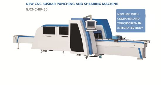Professional CNC Busbar Punching and Shearing Machine