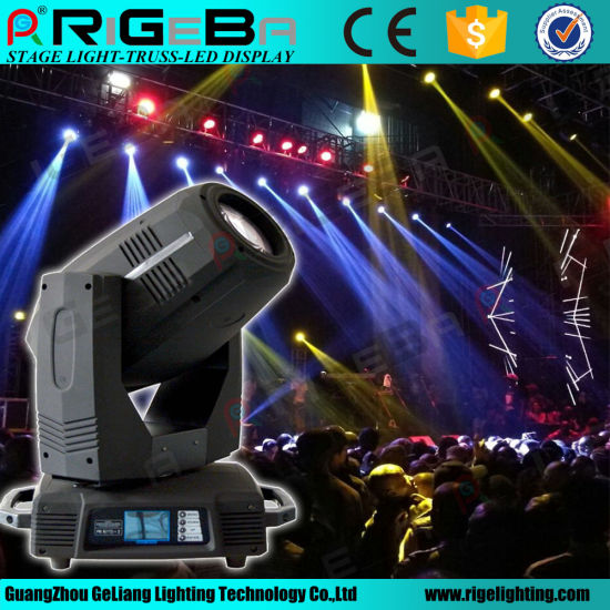 High Power Disco 17r 350W Beam Spot Wash 3in1 Moving Head Stage Light pictures & photos