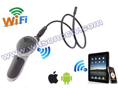Witson WiFi Endoscope Borescope Camera. Dia 8mm 4LEDs (W3-CMP3813WX)