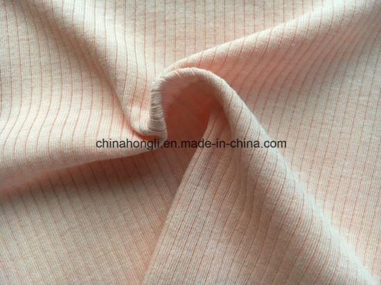 High Quality 4*2 Rib, C/P/Sp 58/38/4, 170GSM, Solid Knit Fabric
