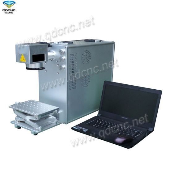 Portable Laser Marking Machine with Lifting Worktable Qd-Fx50