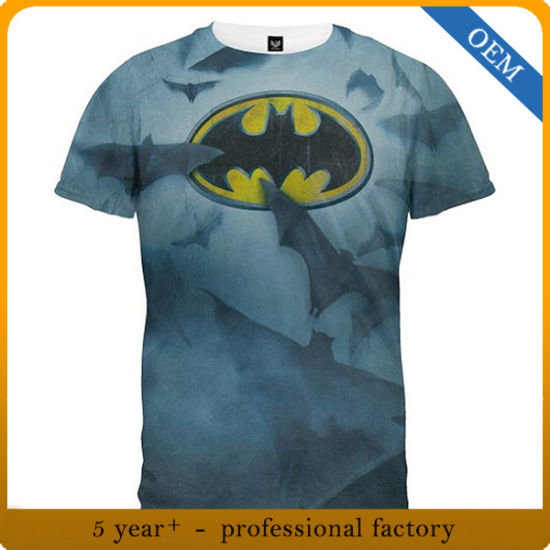 Factory Price Wholesale Men's Cheap All Over Printing T Shirts